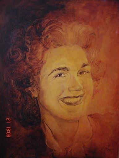 Félix BOECK DE - Pintura - Hommage à Madame Sanders