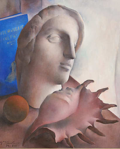 Guido TRENTINI - Pittura - NATURA MORTA