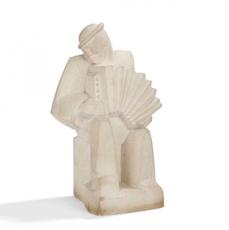Jan & Joël MARTEL - Escultura - Accordéoniste