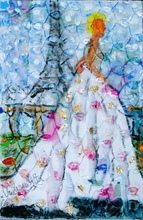 Valerio BETTA - Pintura - Sposa a Parigi - he marries in Paris