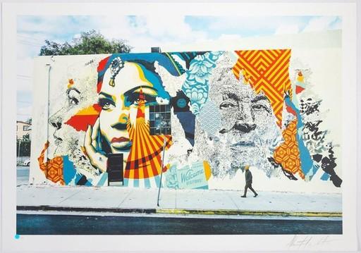 Fairey SHEPARD & VHILS - Print-Multiple - American Dreamers