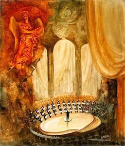 Roger SURAUD - Gemälde - Concerto