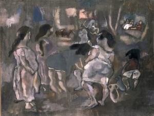 Jules PASCIN - Pintura - Tunis