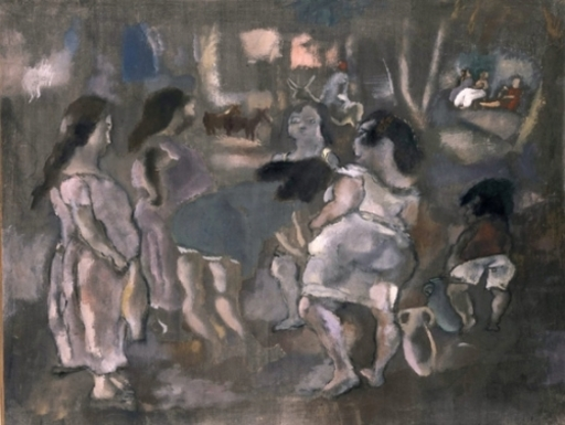 Jules PASCIN - Painting - Tunis