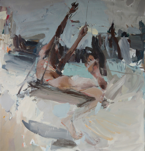 Vladimir SEMENSKIY - Painting - Wings