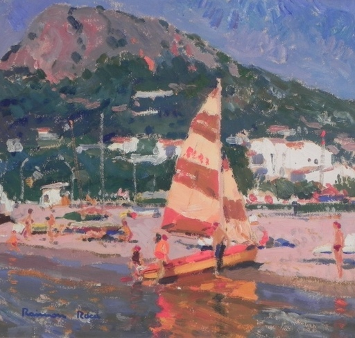Ramòn ROCA RICART - Painting - Velero