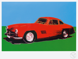 Andy WARHOL - Stampa-Multiplo - Mercedes 300 SL Gullwing