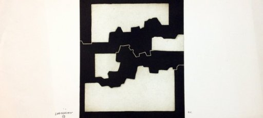 Eduardo CHILLIDA - Estampe-Multiple - Elkar IV