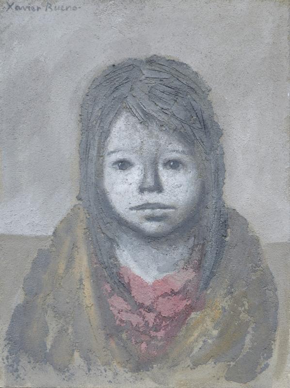 Xavier BUENO - Pintura - Bambina