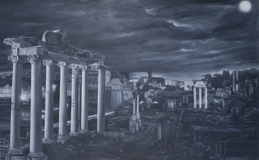 Gian Marco MONTESANO - Painting - Roma Forum Imperiale