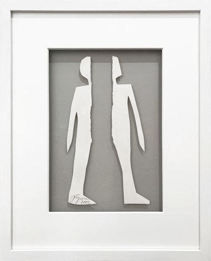 Felix DROESE - Sculpture-Volume - Der zerrissene Mann