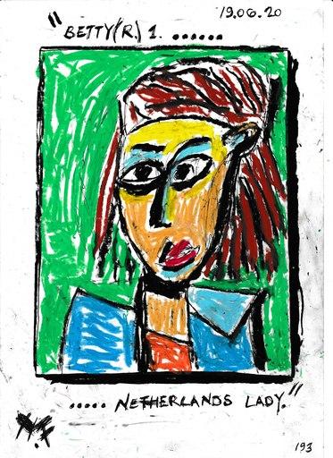 Harry BARTLETT FENNEY - Disegno Acquarello - netherlands