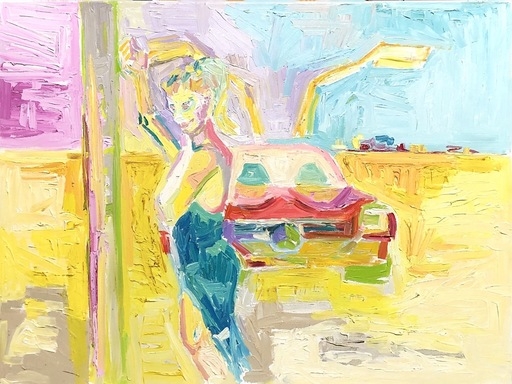 Nicole LEIDENFROST - Gemälde - Flügeltürer