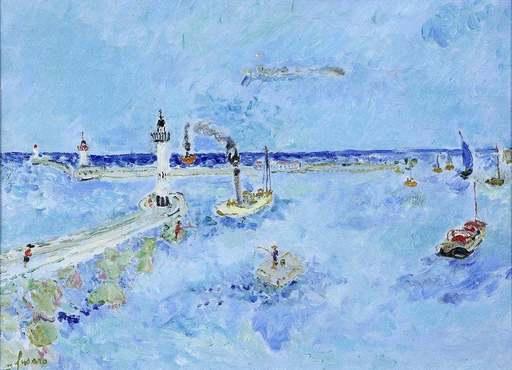 Jean FUSARO - Pintura - Phare de la Tourette