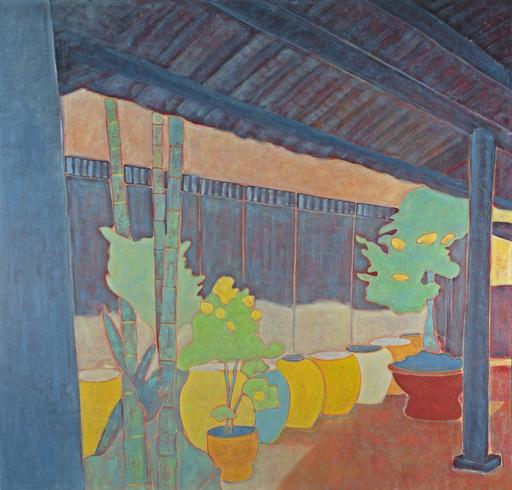 Marie-Pierre AUTONNE - Peinture - Les Bleus de Hoi Han
