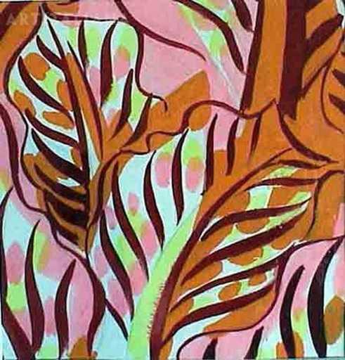 Raoul DUFY - Drawing-Watercolor - senza titolo