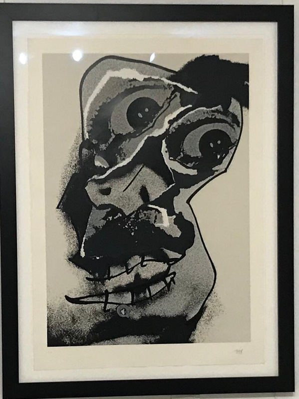 Antonio SAURA - Grabado - Untitled