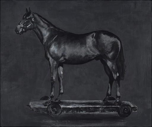 STEFAN À WENGEN - Pittura - Detected Dictionary (Horse)