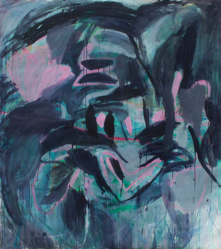 Macha POYNDER - Gemälde - As Long as We Remember (Abstract Expressionism painting)