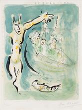 Marc CHAGALL (1887-1985) - Aeschylus, from 'Sur La terre des Dieux'