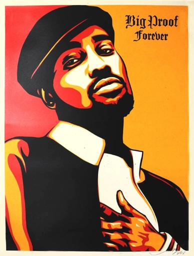 Shepard FAIREY - Druckgrafik-Multiple - Big Proof Forever