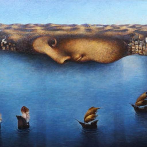Franco FORTUNATO - Pittura - Terra,terra!-Racconti per l'Europa