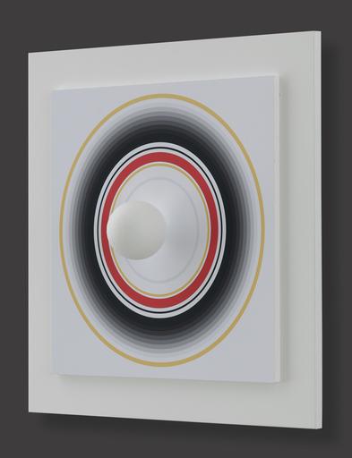 Antonio ASIS - 版画 - Asistype 5 - boule sur cercle