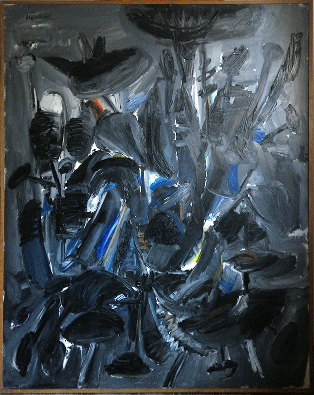 Ladislas KIJNO - Painting - Isotonie