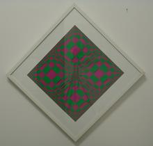 Edoardo LANDI - Painting - Strutturazione ortogonale