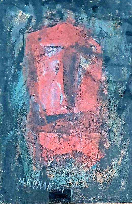 Marian KONARSKI - Painting - Face