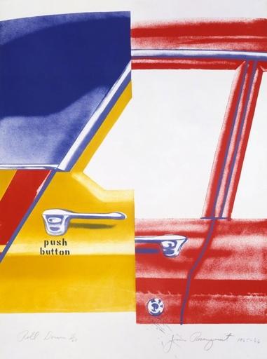 James ROSENQUIST - Print-Multiple - Roll Down