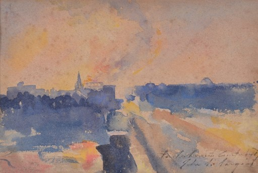 John Singer SARGENT - Pintura - Sin titulo
