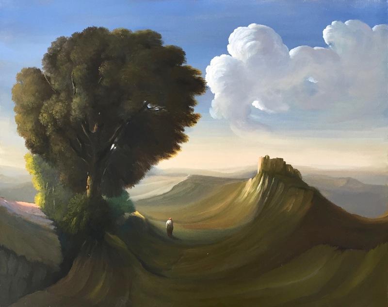 Ubaldo BARTOLINI - Pintura - La ghiandaia