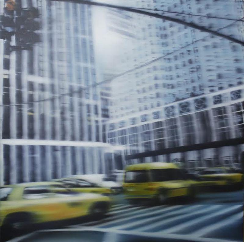 Jean-Marc AMIGUES - Painting - Sans titre