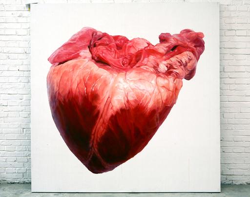 LU Zhengyuan - Painting - Heart
