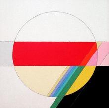 Eugenio CARMI - Painting - Messaggio cosmico