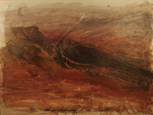 Irène SHRAER - Peinture - Terre Noire