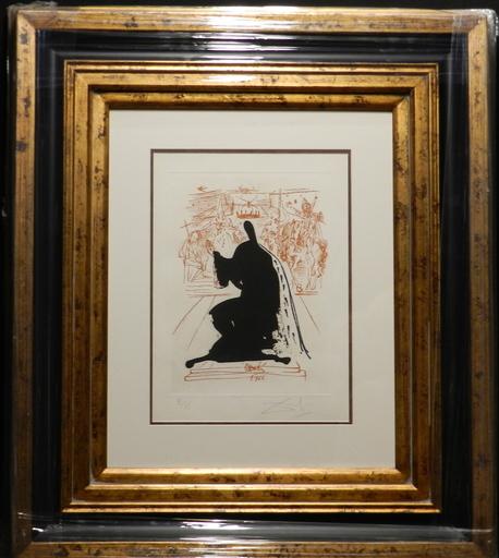萨尔瓦多·达利 - 版画 - La Visa es Sueno Figure in an Emine Cloak