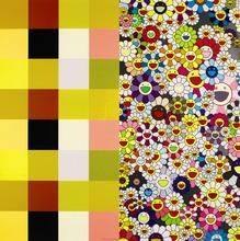 Takashi MURAKAMI (1962) - Acupuncture/Flowers (Checkers)