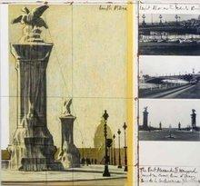 CHRISTO - Grabado - The port alexandre III