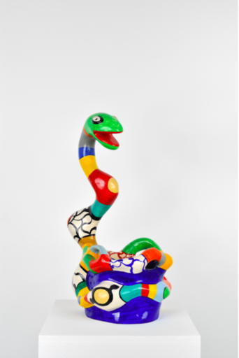 Niki DE SAINT-PHALLE - Sculpture-Volume - Serpent Vase