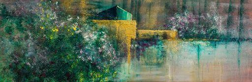 Françoise DUGOURD CAPUT - Painting - La cabane du pêcheur