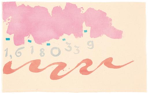 Giorgio GRIFFA - Pintura - LA DIVINA PROPORZIONE N. 339 B