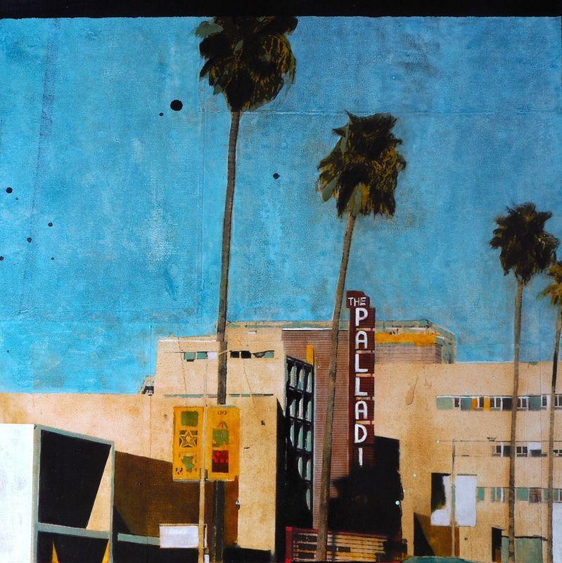 Ayline OLUKMAN - Gemälde - Palladium L.A.