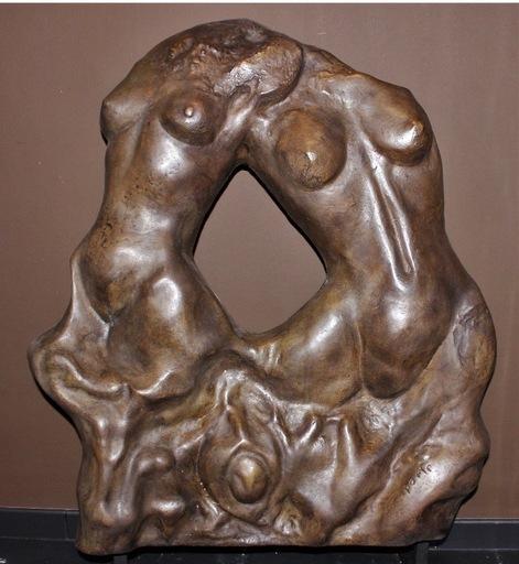 Charles DELPORTE - Sculpture-Volume - Le sommeil