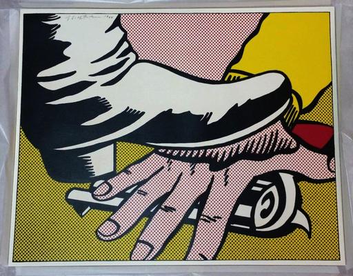 Roy LICHTENSTEIN - Stampa-Multiplo - Foot and Hand