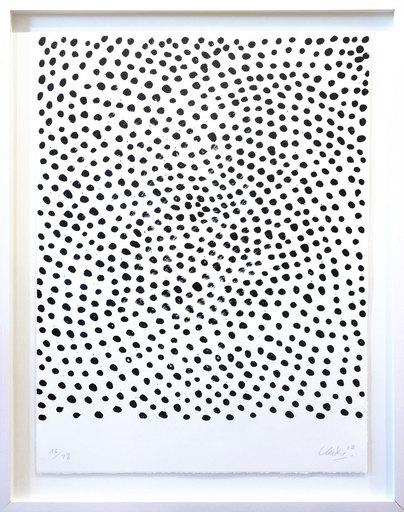 Günther UECKER - Print-Multiple - Permutation III