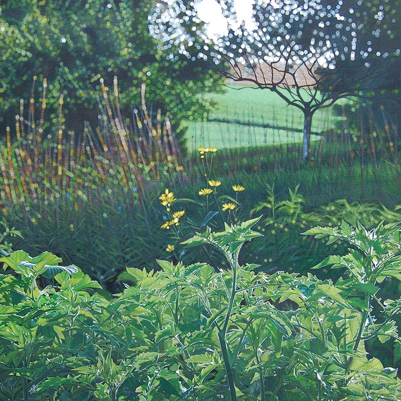 AGATE - Painting - Plants de tomates