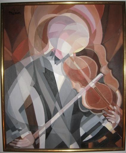 Roger MENIN - Pintura - LES VIOLONS
