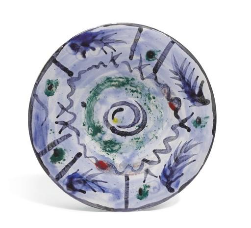 Pablo PICASSO - Ceramic - Décor informel